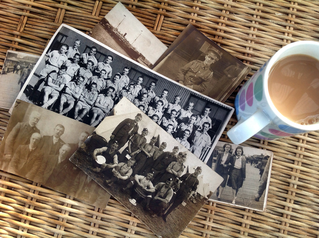 Large old family photos