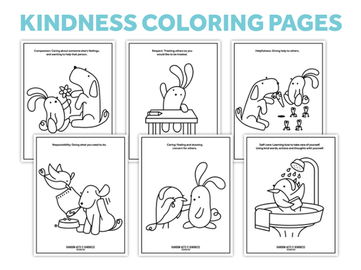 Thumb coloring pages