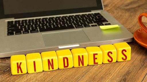 Thumb mobile phone kindness