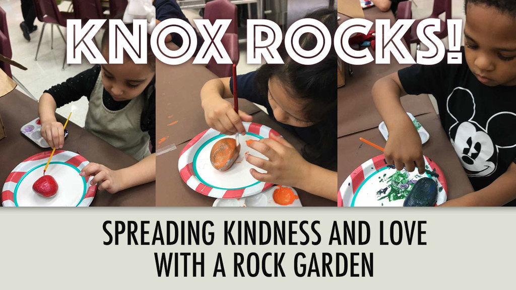 Large knox rocks