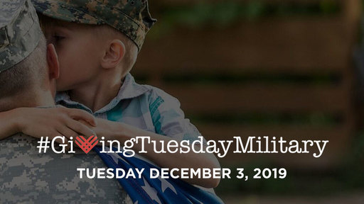 Thumb giving tuesday military