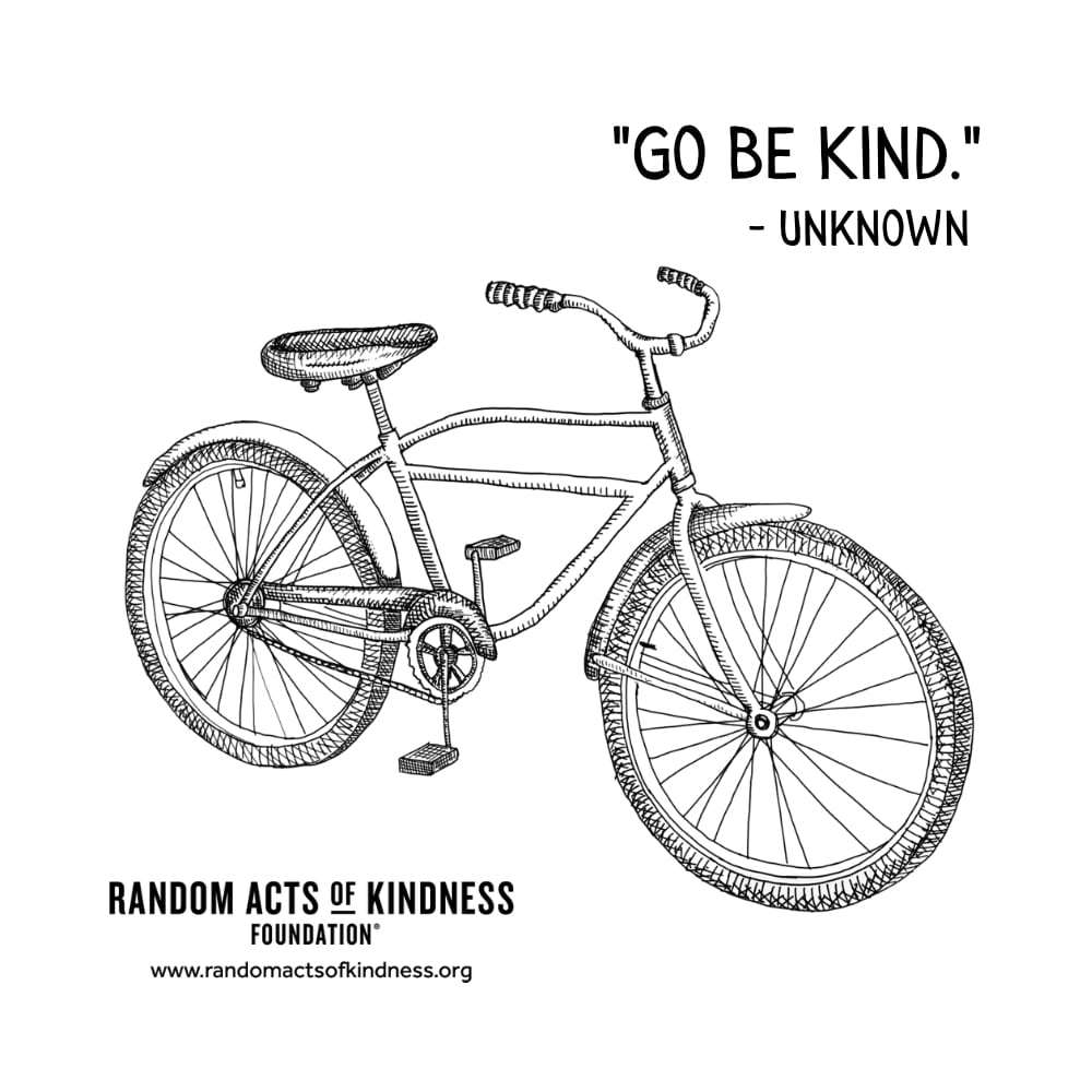 Quotation: Go be kind Unknown