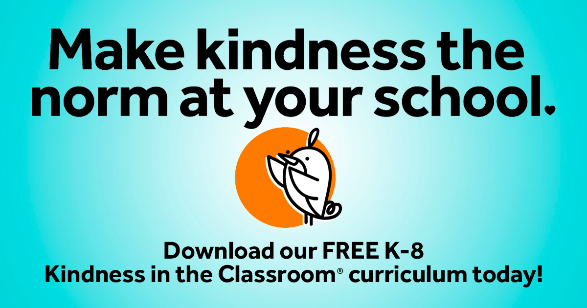 Kindness Curriculum Shown To Improve >> Random Acts Of Kindness Free K 8 Lesson Plans New Improved
