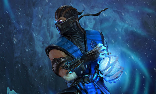 Thumb 1518725970 mortal kombat x sub zero statue pop culture shock collectibles feature 902878