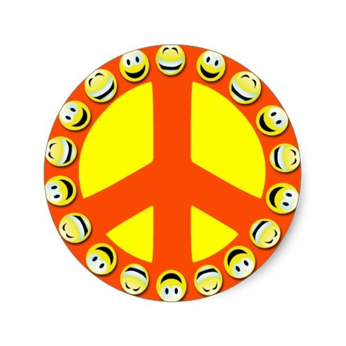 Square smiley face peace sign classic round sticker r2d3dba0b2e124cddbf23d53c52739ce1 v9waf 8byvr 512